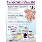 French Builder Color Gel - III. - la Rose -15g