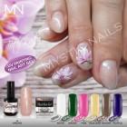 UV Painting Nail Art Gel - 15 - Vivid Pink - 4g