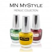 MyStyle Lak za nokte - Metalik Boje