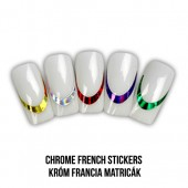 Chrome French Stickers