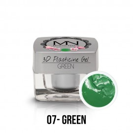 3D Plastelin Gel - 07 - Green - 3,5g
