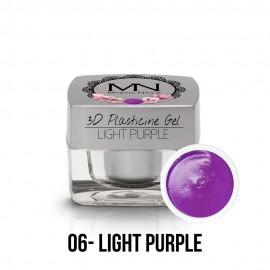 3D Plastelin Gel - 06 - Light Purple - 3,5g