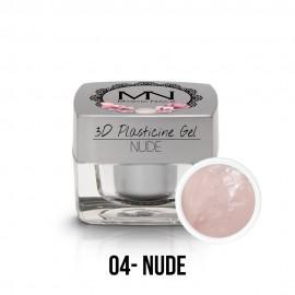 3D Plastelin Gel - 04 - Nude - 3,5g