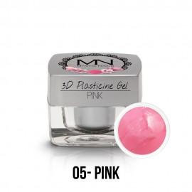 3D Plastlin Gel - 05 - Pink - 3,5g