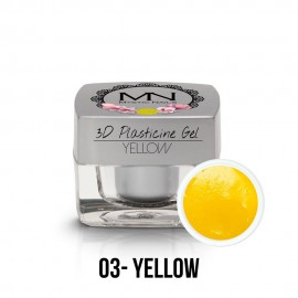 3D Plastelin Gel - 03 - Yellow - 3,5g