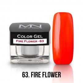 Color Gel - no.63. - Fire Flower