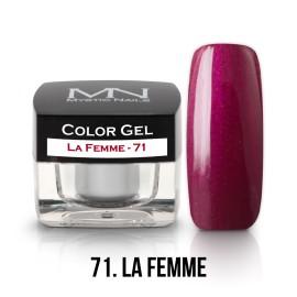 Color Gel - 71 - La Femme - 4g