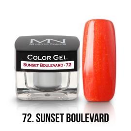Color Gel - 72 - Sunset Boulevard - 4g