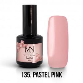 Gel Polish 135 - Pastel Pink 12ml