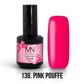 Gel Polish 136 - Pink Pouffe 12ml