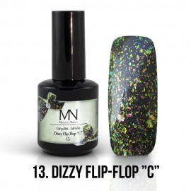Gel Polish Dizzy 13 - Dizzy Flip-Flop C 12ml
