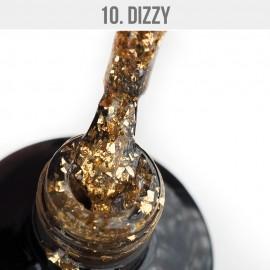 Gel Lak Dizzy 10. - Dizzy Bronze Foil 12 ml