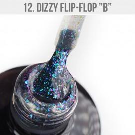 Gel Lak Dizzy 12 - Dizzy Flip-Flop B 12ml