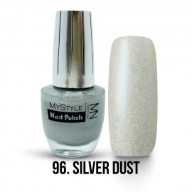 MyStyle - no.096. - Silver Dust - Silver Effect - 15 ml