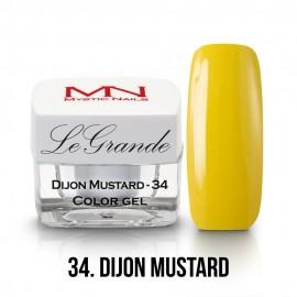 LeGrande Color Gel - no.34. - Dijon Mustard - 4g