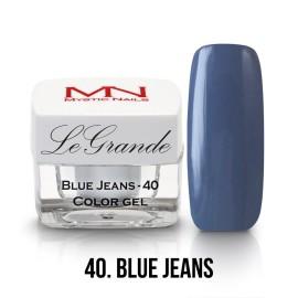 LeGrande Color Gel - no.40. - Blue Jeans - 4g