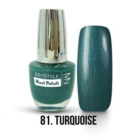 MyStyle - no. 081. - Turquoise - 15ml