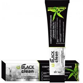 """Pasta za izbeljivanje, za savršene zube sa mikro granulama aktivnog uglja """"Black clean"""" , 85 g"""