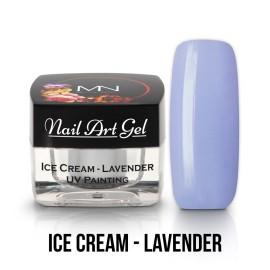UV Painting Nail Art Gel - Ice Cream - Lavender - 4g