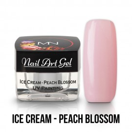 UV Painting Nail Art Gel - Ice Cream - Peach Blossom - 4g