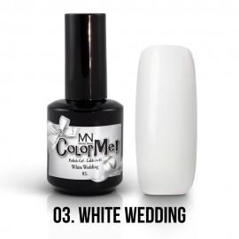 Gel Polish no.03. - White Wedding 12 ml