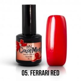 Gel Polish no.05. - Ferrari Red 12 ml