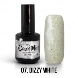 Gel Polish Dizzy no.07. - Dizzy White 12 ml