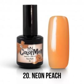 Gel Polish no.20. - Neon Peach 12 ml