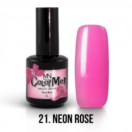 Gel Polish no.21. - Neon Rose 12 ml