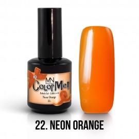 Gel Polish no.22. - Neon Orange 8 ml