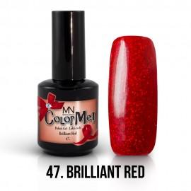 Gel Polish no.47. - Brilliant Red 12 ml