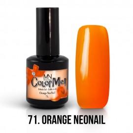 Gel Polish no.71. - Orange NeoNail 12 ml