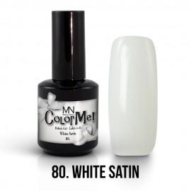 Gel Polish no.80. - White Satin 12 ml