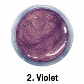 Akrilna boja - br.02. - Violet - Metalik boja