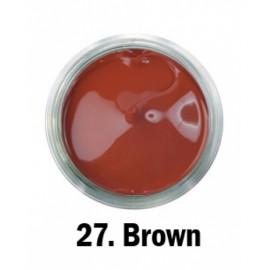 Akrilna boja - br.27. - Brown