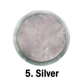 Akrilna boja - br.05. - Silver - Metalik boja
