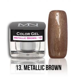 Color Gel - no.13. - Metallic Brown