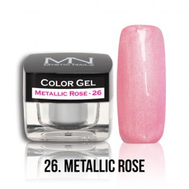 Color Gel - no.26. - Metallic Rose