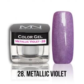 Color Gel - no.28. - Metallic Violet