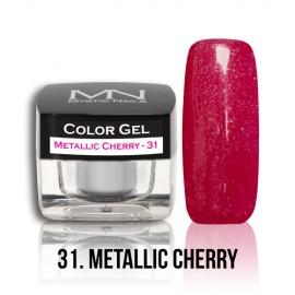 Color Gel - no.31. - Metallic Cherry