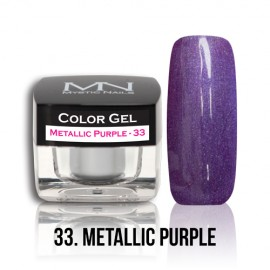 Color Gel - no.33. - Metallic Purple