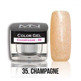 Color Gel - no.35. - Champagne