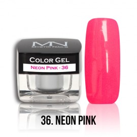 Color Gel - no.36. - Neon Pink