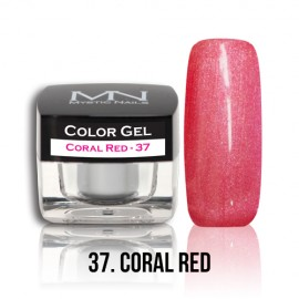 Color Gel - no.37. - Coral Red