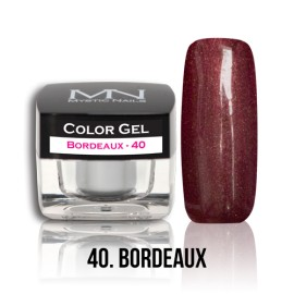 Color Gel - no.40. - Bordeaux