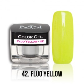Color Gel - no.42. - Fluo Yellow