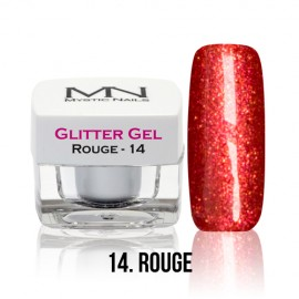 Glitter Gel - no.14. - Rouge - 4g
