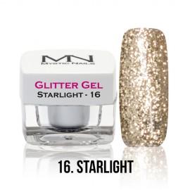 Glitter Gel - no.16. - Starlight - 4g