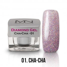 Diamond Gel - no.01. - Cha-Cha - 4g