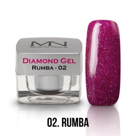 Diamond Gel - no.02. - Rumba - 4g